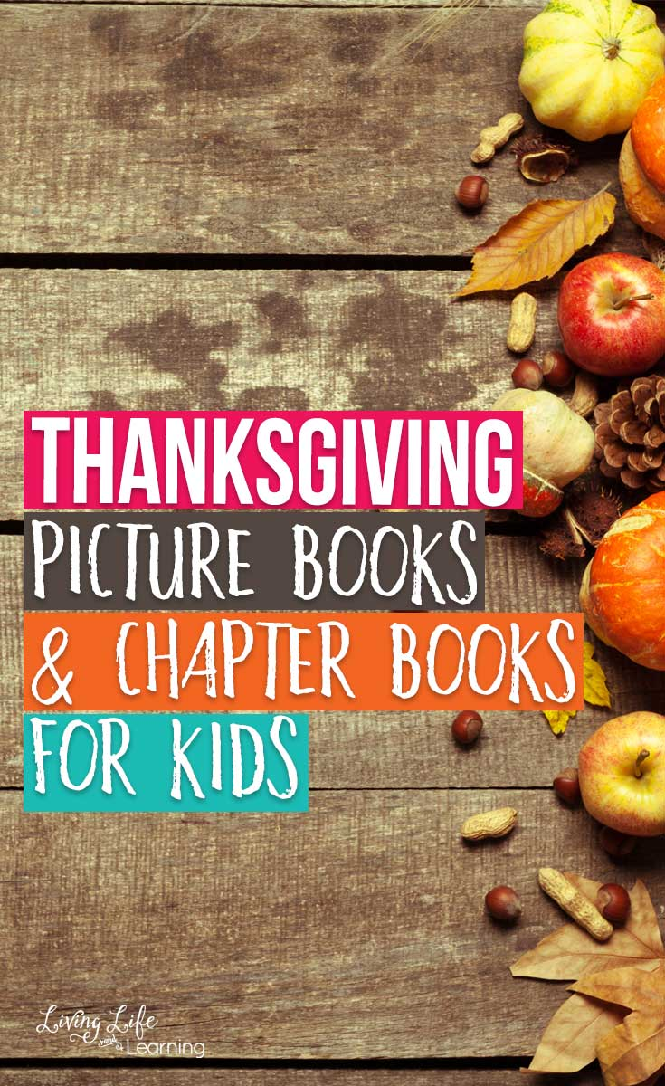 Thanksgiving Picture Books and Chapter Books for Kids