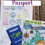 free printable passport for kids