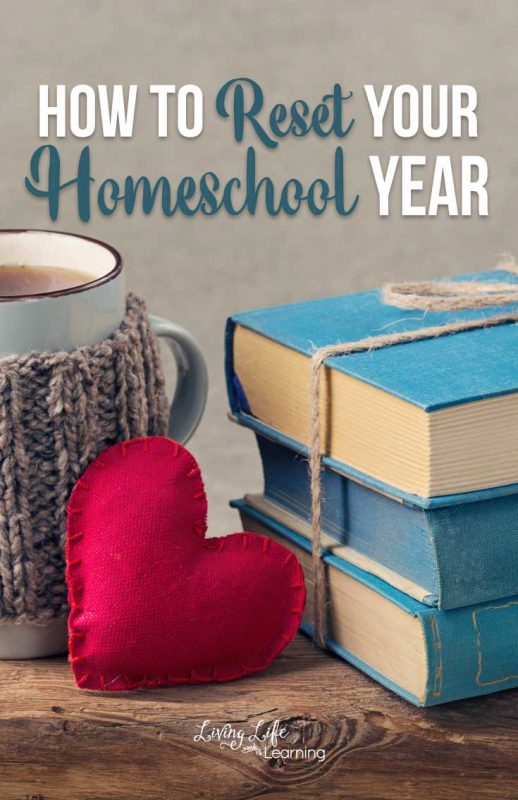 Things may not be perfect but it's not too late to turn things around, see how to reset your homeschool year to make the most of the school year.