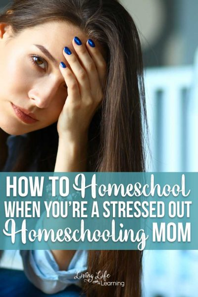 It's tough to homeschool when there's so much going on. When things aren't going your way, see these tips on how to homeschool when you're a stressed out homeschooling mom to get you going the right way.