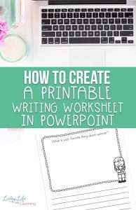 how to make a printable in Powerpoint