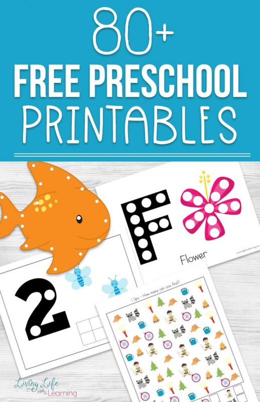 Have some fun with your preschooler and learn at the same time with these educational free preschool printables in various seasonal themes. There are counting activities, letter activities, writing activities and more. Looking for printable preschool worksheets? Find everything you need here.