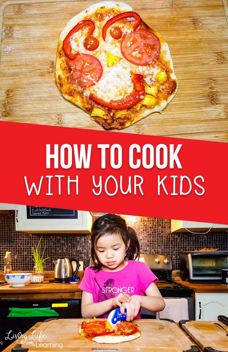 how to cook with your kids - how to get them in the kitchen with you