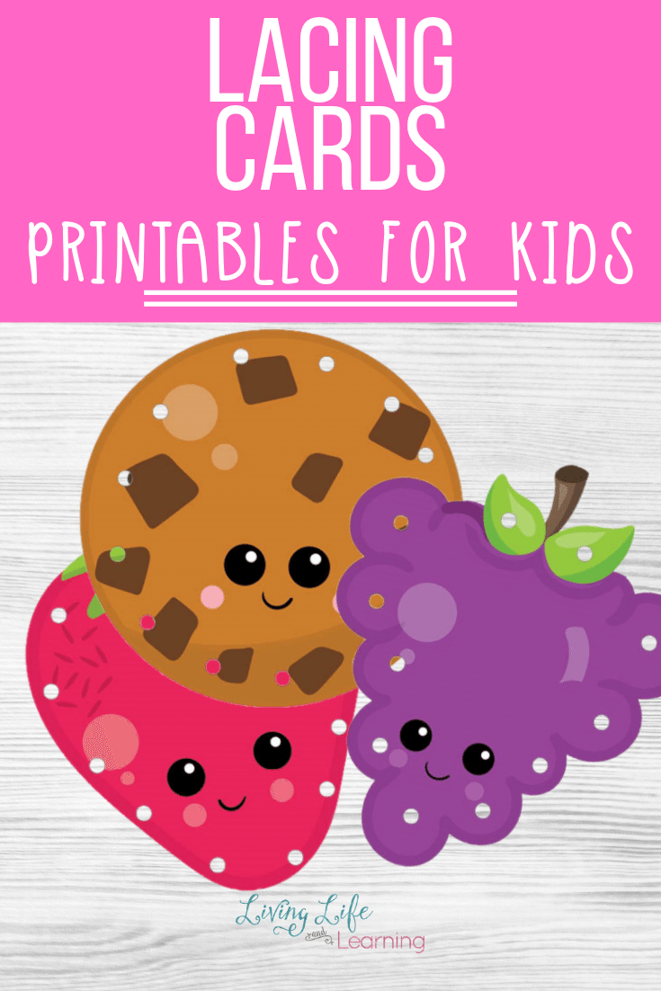 Fine Motor Printable Lacing Cards
