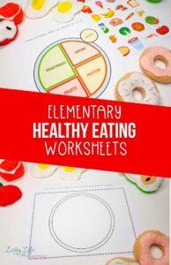 Healthy Eating Worksheet