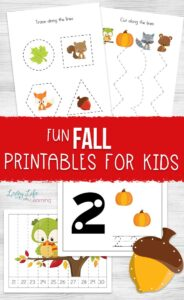 Fun Fall Printables for Kids