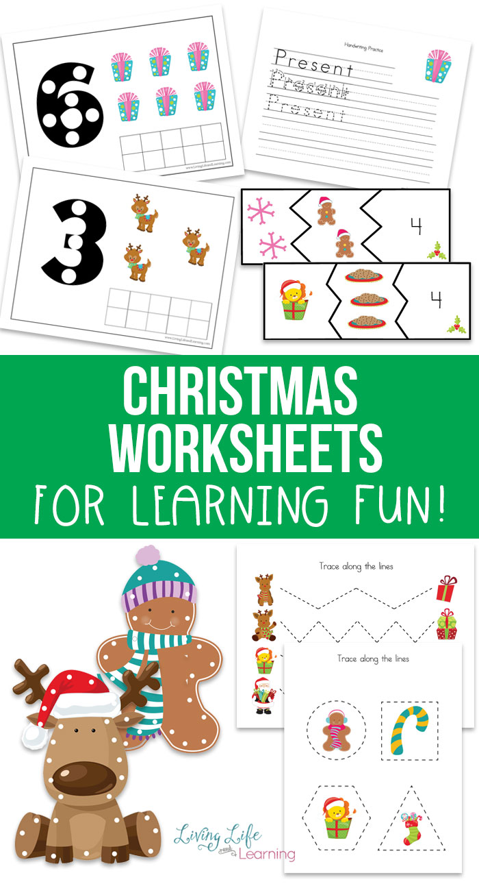 Free Christmas Worksheets for Kids