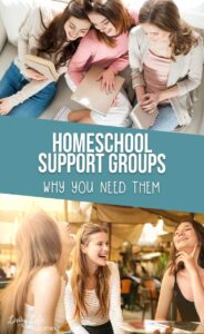 Homeschool support groups: why you need them