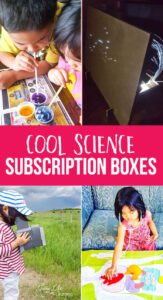 Cool science subscription boxes for kids