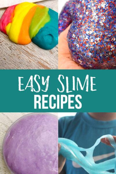 Easy Slime Recipes