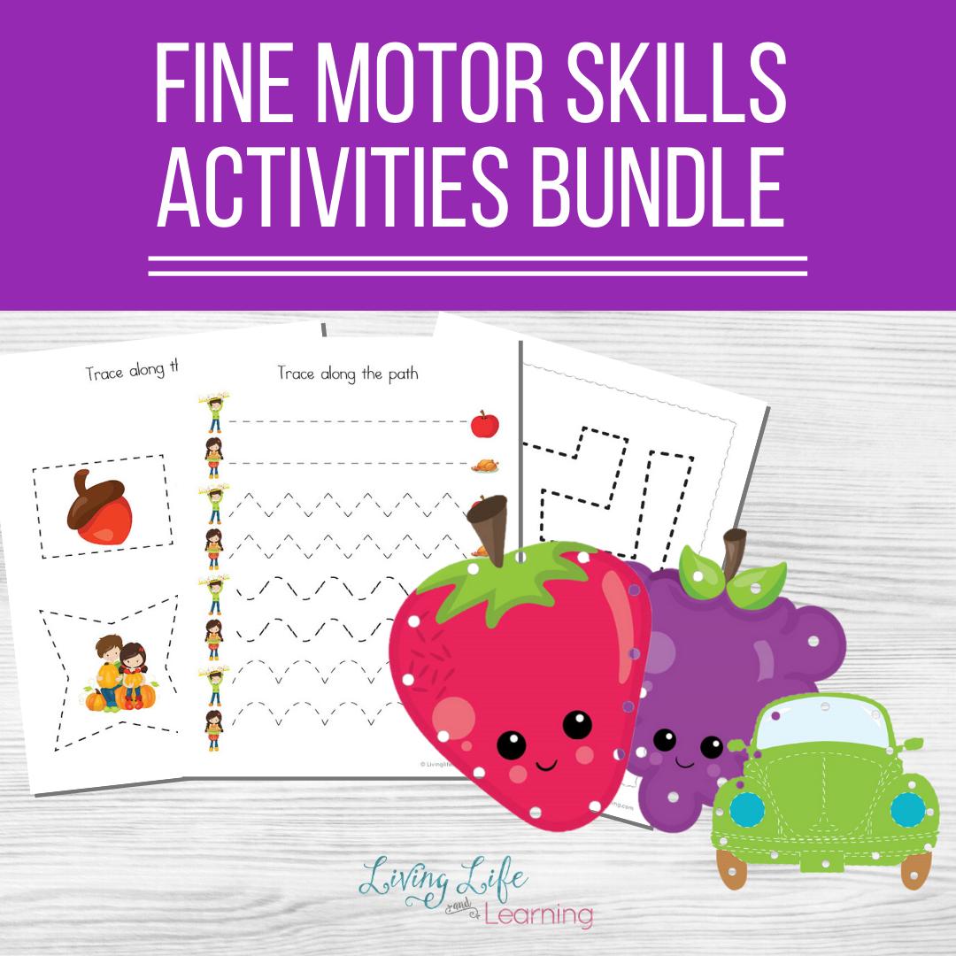 fine motor skills activities bundle