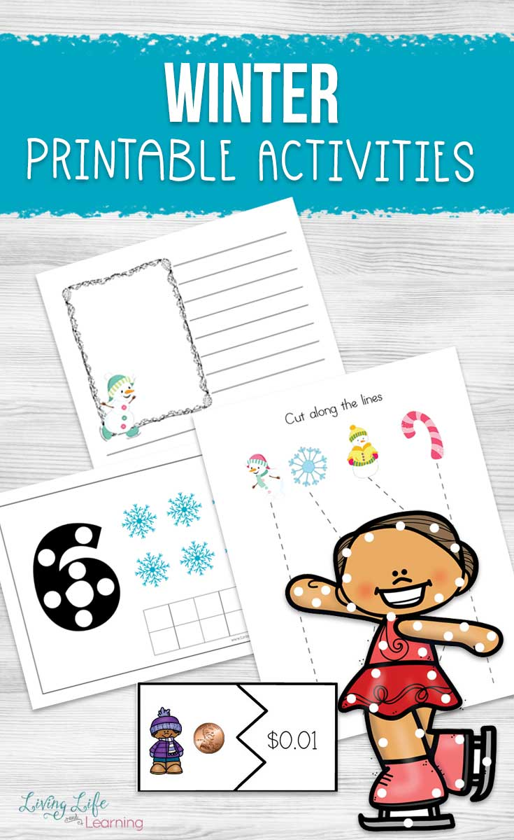 Winter Printables for Kids You Have to Try
