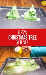 Fizzy Christmas Tree Science