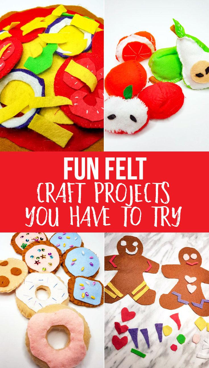 Fun felt craft projects