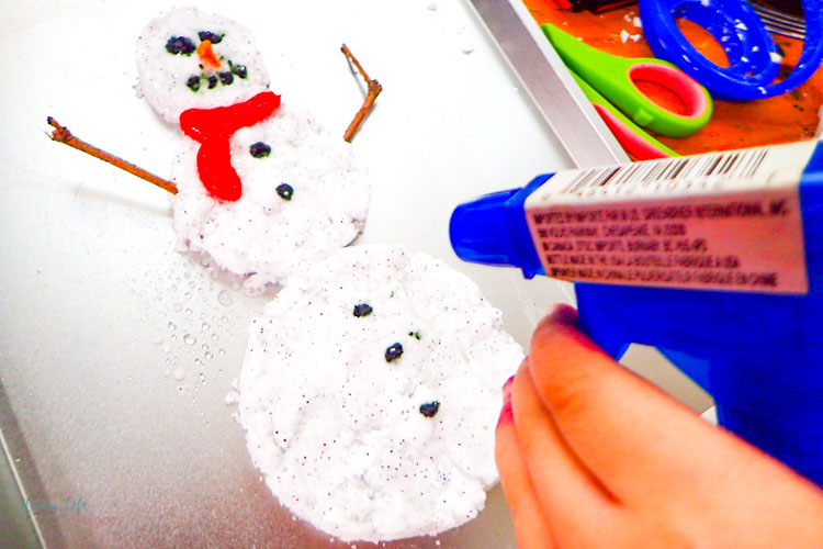 Fizzy Snowman Science