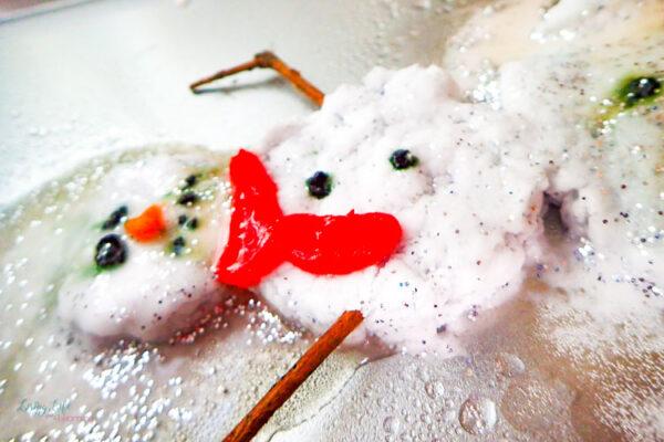Fizzy Snowman Science Activity