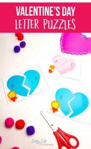Valentine's Day Letter Puzzles
