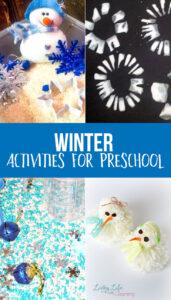 Winter Activities for Preschool