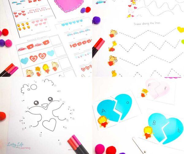 Valentine's Day Printables for Kids