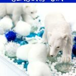 Easy Polar Bear Sensory Bin