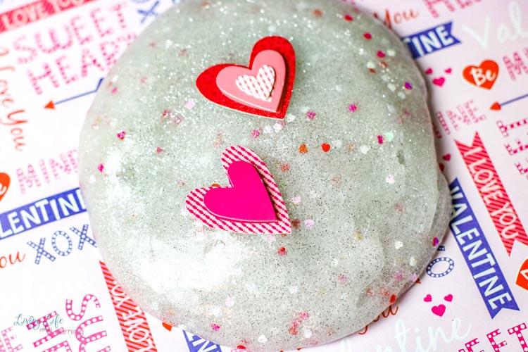 Valentine's Day Slime Recipe