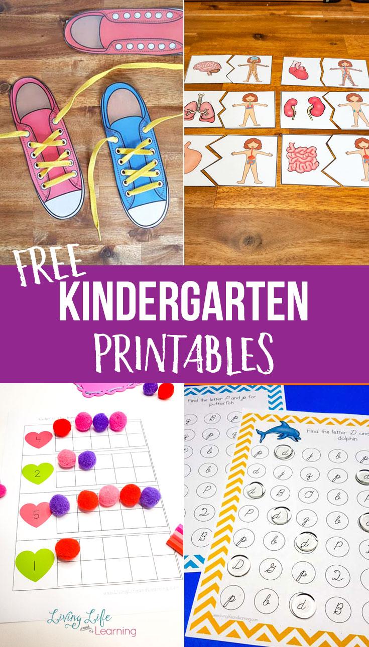 Fun Printable Kindergarten Worksheets