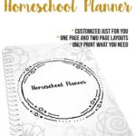 The Unorganized Mom Printable Homeschool Planner