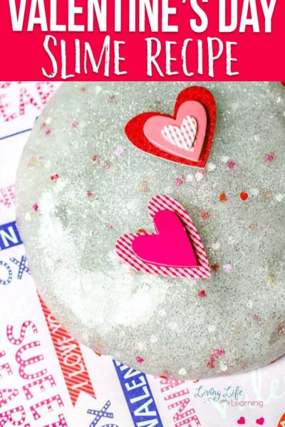 Valentine's Day Slime Recipe