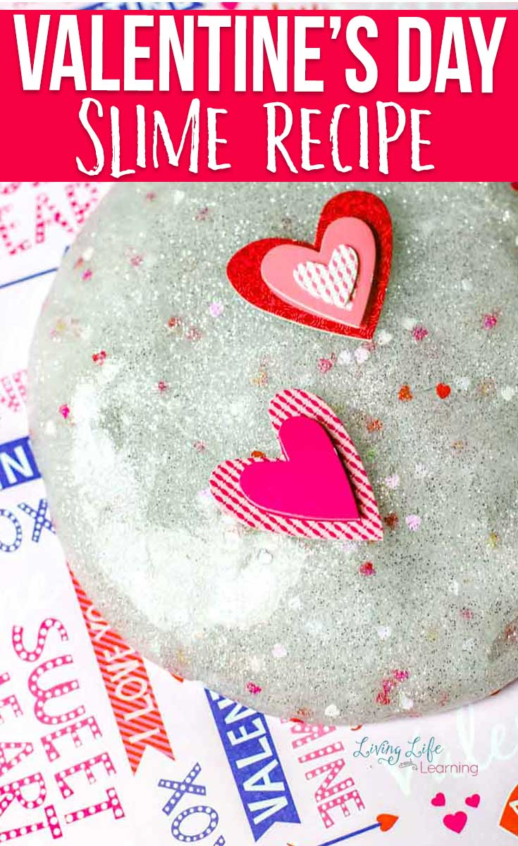 Simple Valentine's Day Slime Recipe