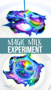 Cool Magic Milk Experiment
