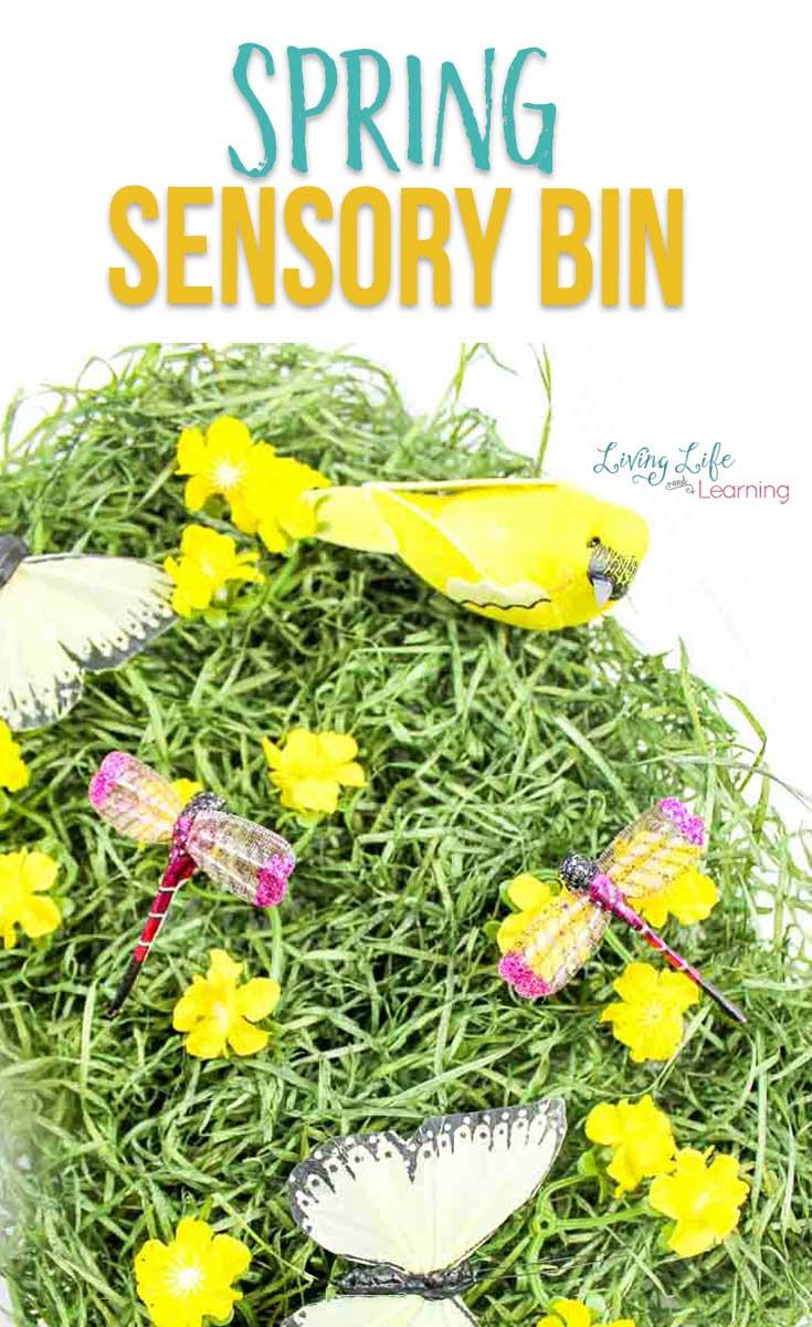 Spring Sensory Bin