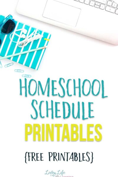 Homeschool schedule printables