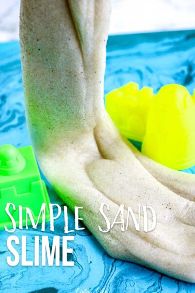 Simple Sand Slime Recipe