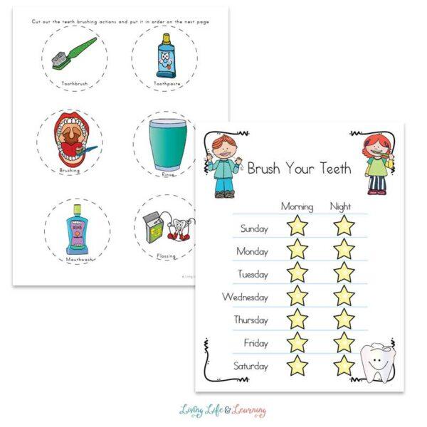 Dental Health Worksheets for Kids