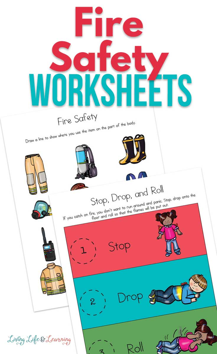 Grab your fire safety worksheets for kids now, and include fire safety in what you teach your kids.  Keeping our kids safe and healthy is easy.