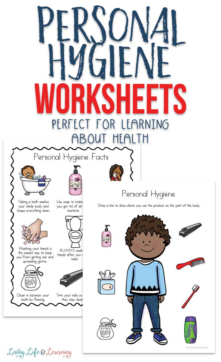 Teach your children the how and why of staying clean with these personal hygiene worksheets for kids. And don't forget to wash your hands!