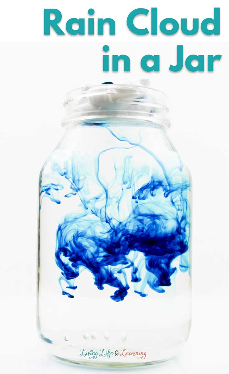 Capture the thrill of watching rain fall up close and personal, with this fun rain cloud in a jar science experiment. Perfect for any age - easy enough for young children, and cool enough for older kids!
