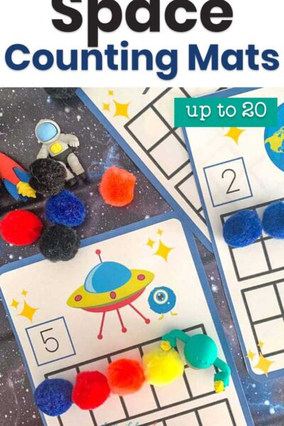 Space Counting Mats up to 20