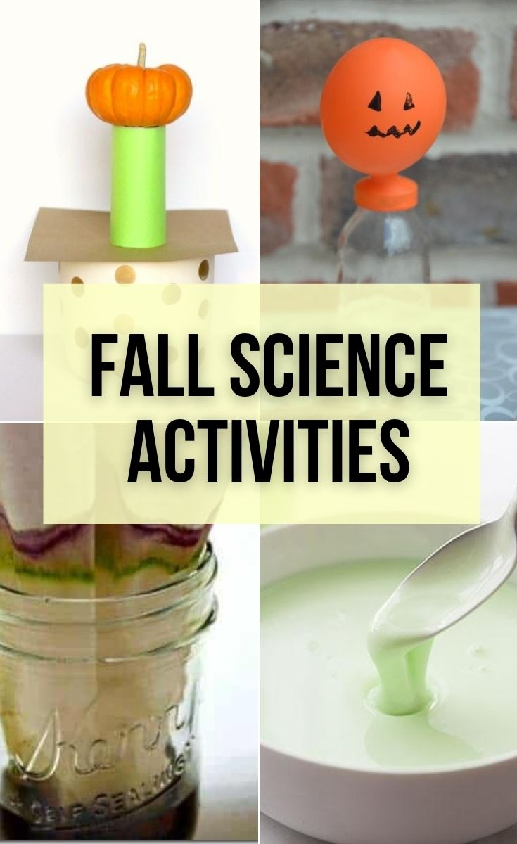 Fun fall science activities with pumpkins