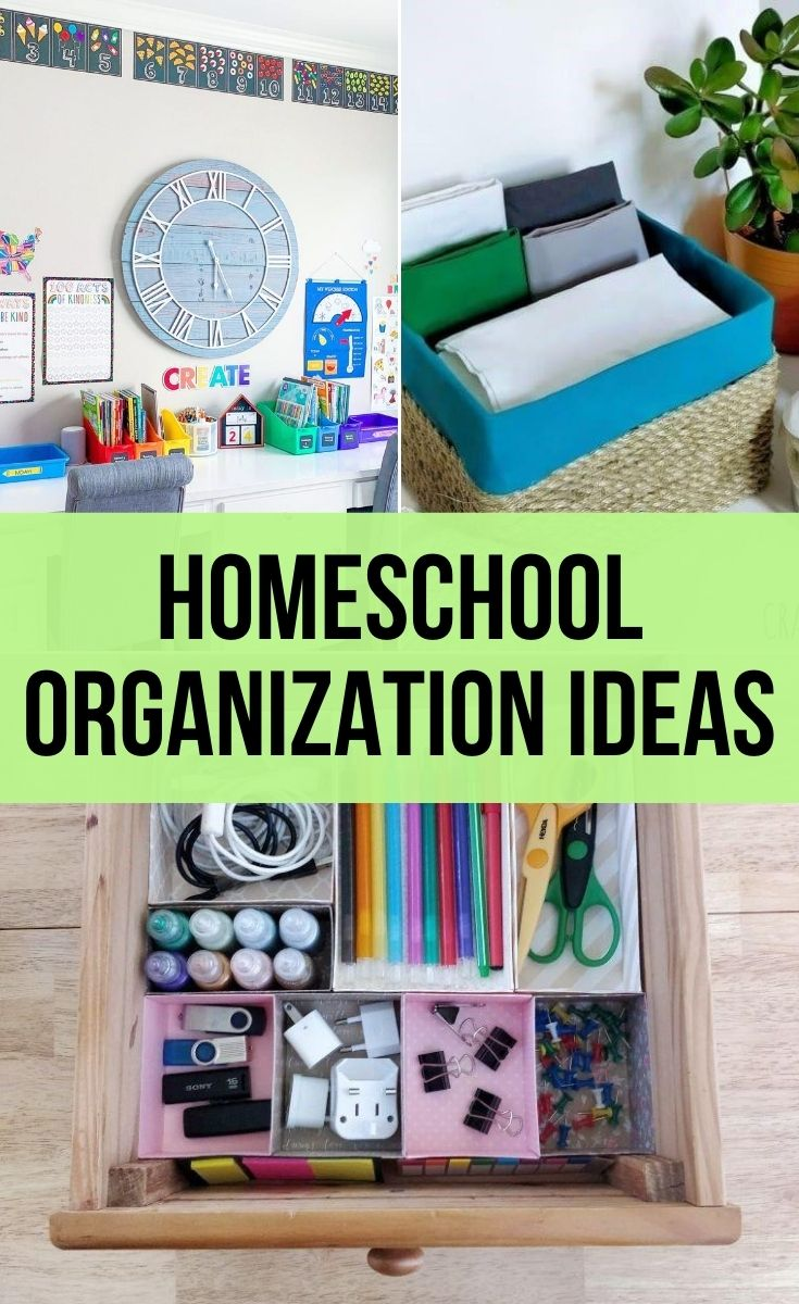 homeschool organizations ideas for your school supplies