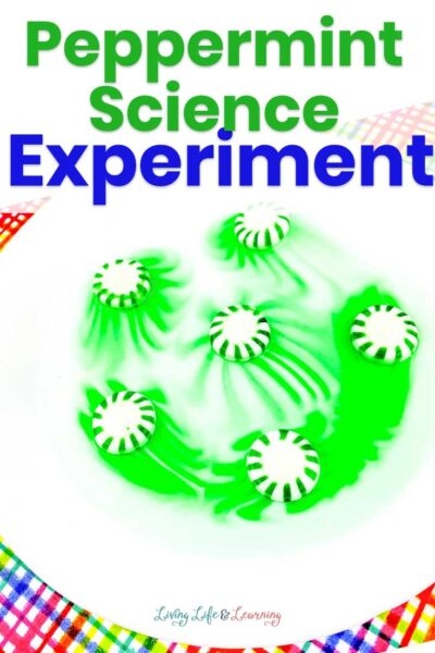 Easy Peppermint Science Experiment
