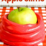 Red Apple Scented Slime Recipe