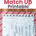 Don't forget to print off your Christmas Counting Match Up below!