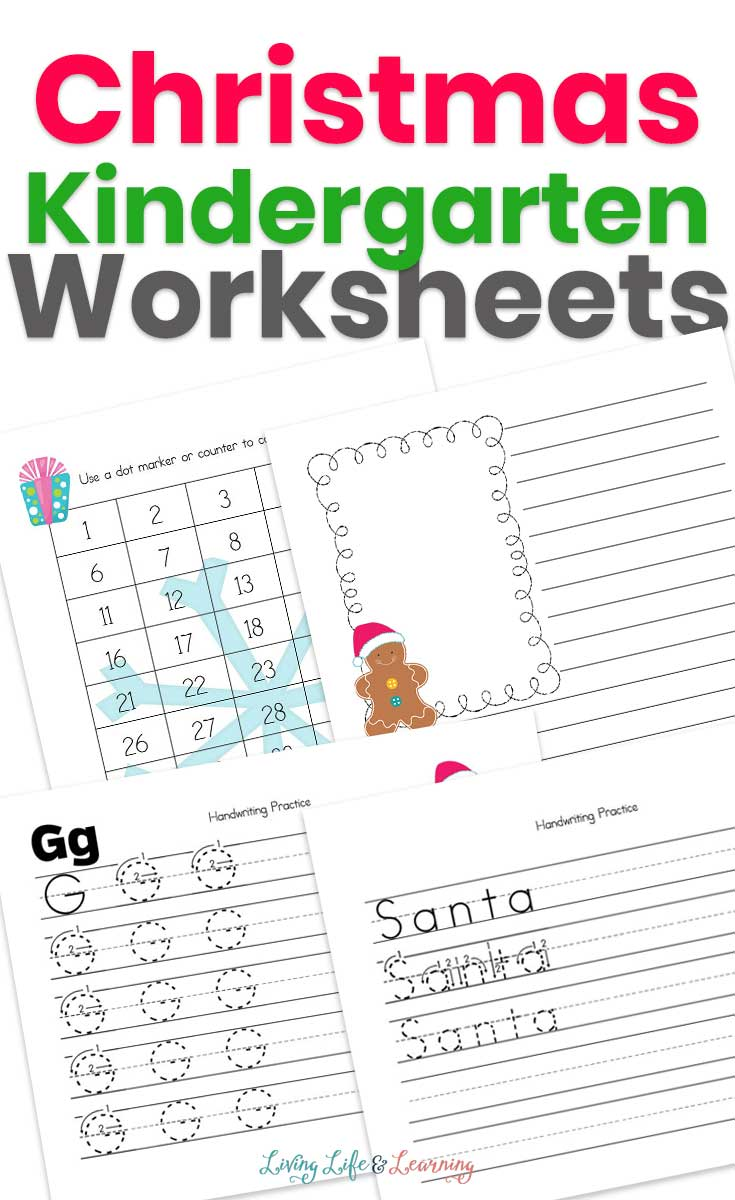Christmas Kindergarten Worksheets You Have to Try