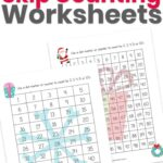 Christmas Skip Counting Worksheets