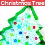 Fizzy Baking Soda Christmas Tree Experiment