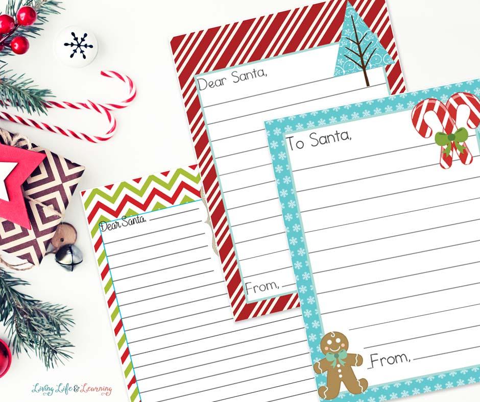 Santa Letters Printables