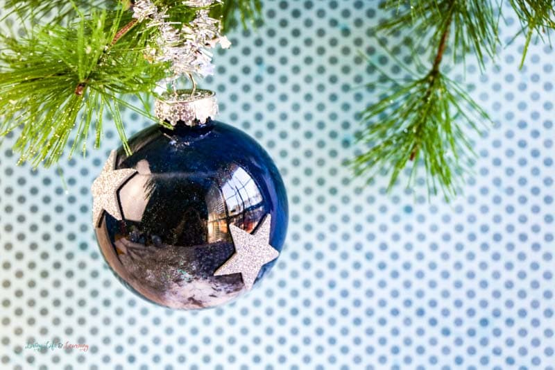 These DIY galaxy ornaments your kids will love are not only a gorgeous ornament to make, but a great way to build those family traditions too!