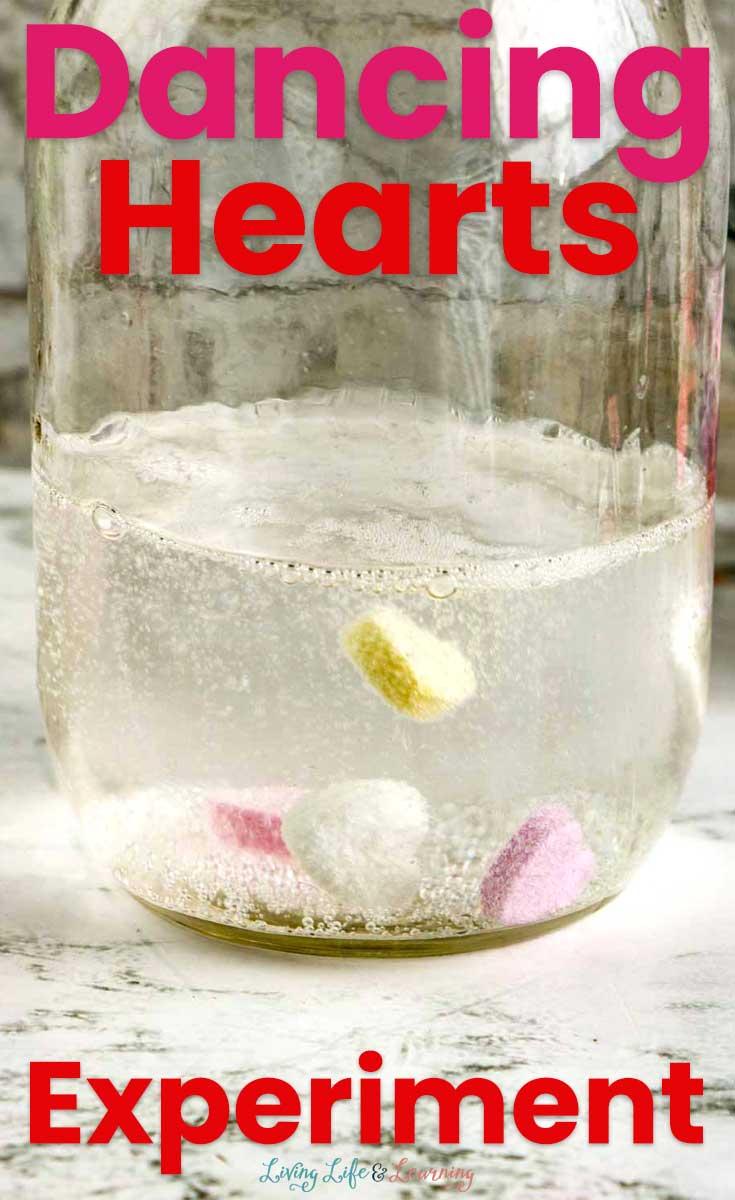 Easy 4-Ingredient Dancing Hearts Experiment