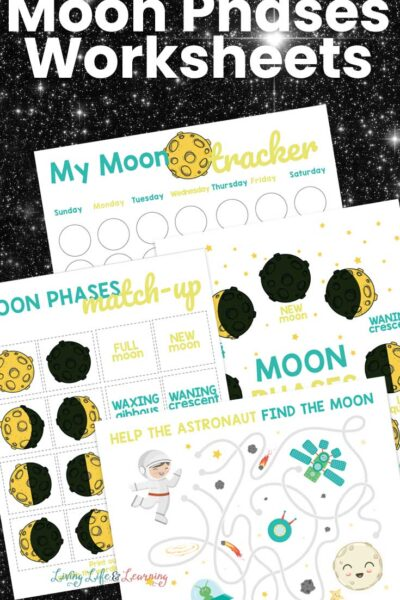 Moon Phases Worksheets